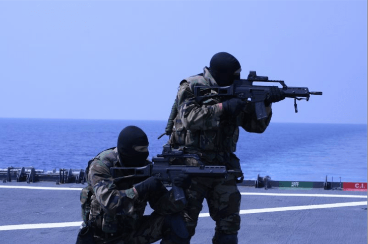 7. Spain's Unidad de Operaciones Especiales, or the Naval Special Warfare Force as it has become since 2009, has long been one of Europe's best-respected special forces. Originally established as the volunteer Amphibious Climbing Company unit in 1952, it has since followed the SAS' example to become an elite fighting force.