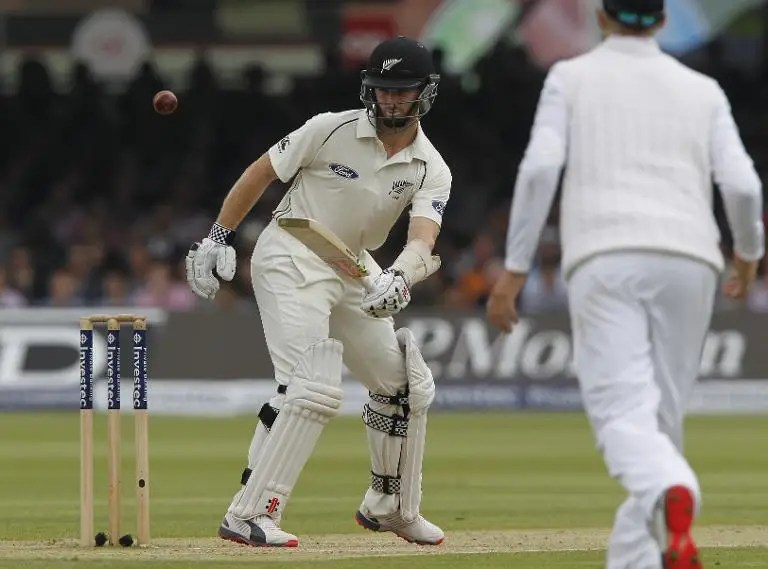 New Zealand's Kane Williamson scored his 10th century in 40 Tests, on the third day of the first Test against England at Lord's on May 23, 2015