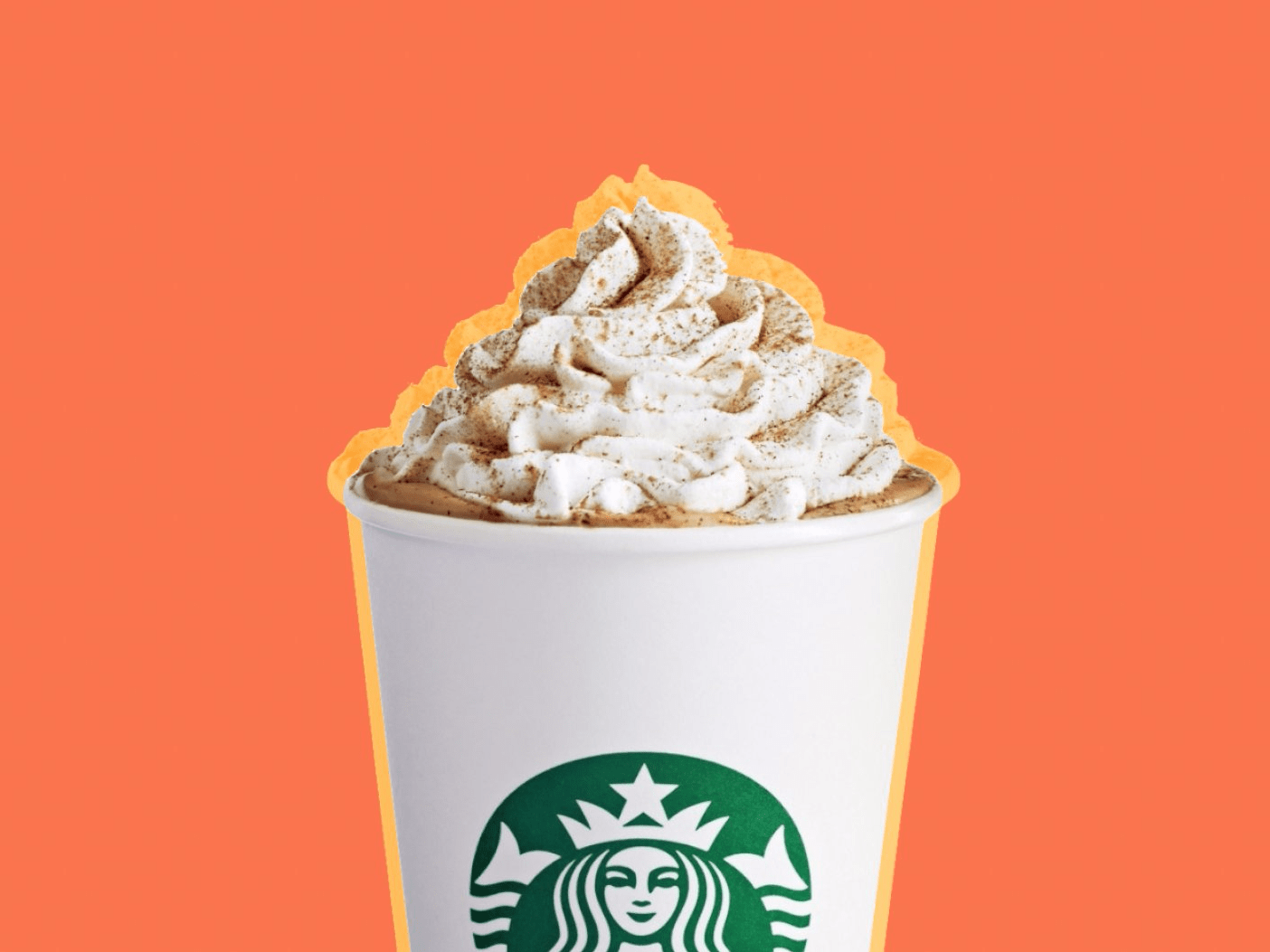 Image result for pumpkin spice latte starbucks