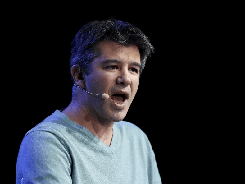 Travis Kalanick, co-founder and CEO of Uber Technologies Inc. speaks at the Wall Street Journal Digital Live ( WSJDLive ) conference at the Montage hotel in Laguna Beach, California  October 20, 2015.  REUTERS/Mike Blake