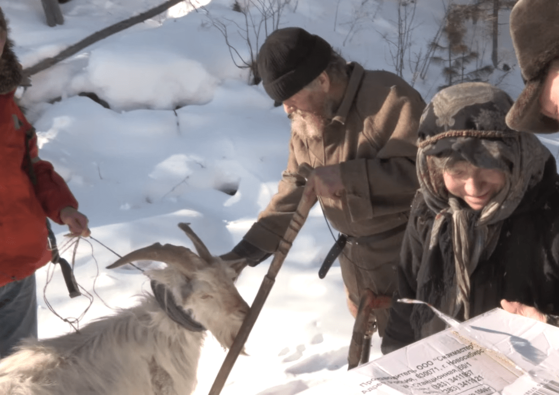 Hunting is outright too much for her. She asked documentarians visiting in 2013 to bring a goat and a chicken!