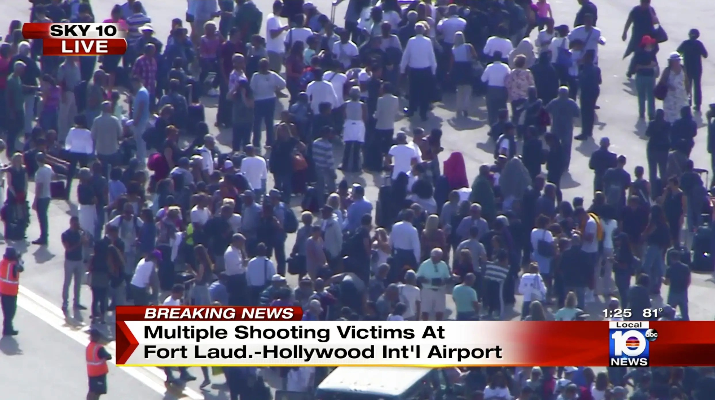 Image result for Multiple People Dead in Fort Lauderdale Airport Shooting