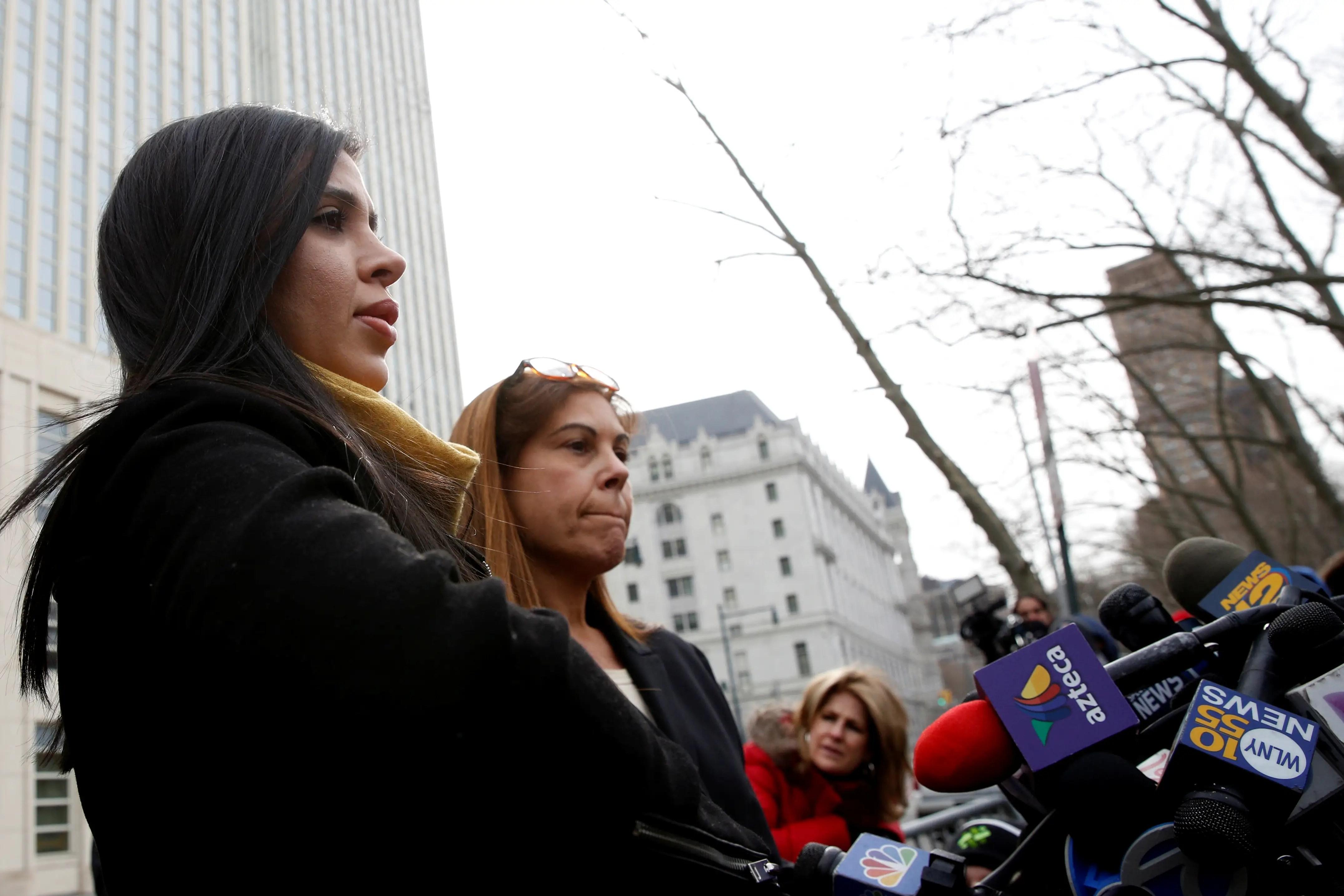Emma Coronel El Chapo Guzman New York court