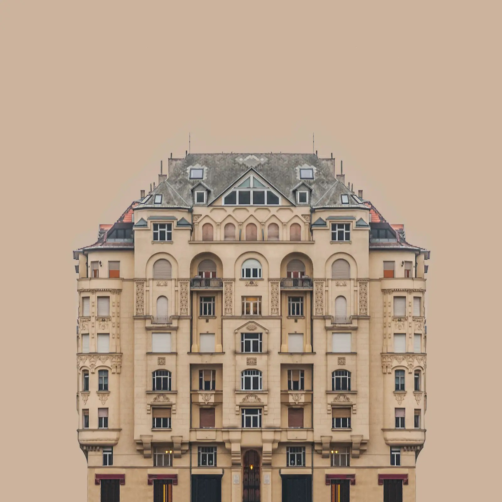 'Urban Symmetry' — Zsolt Hlinka (Hungary), Professional, Architecture