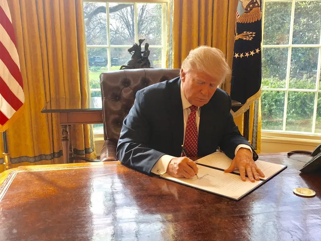 Executive Order, March 6: A new travel ban