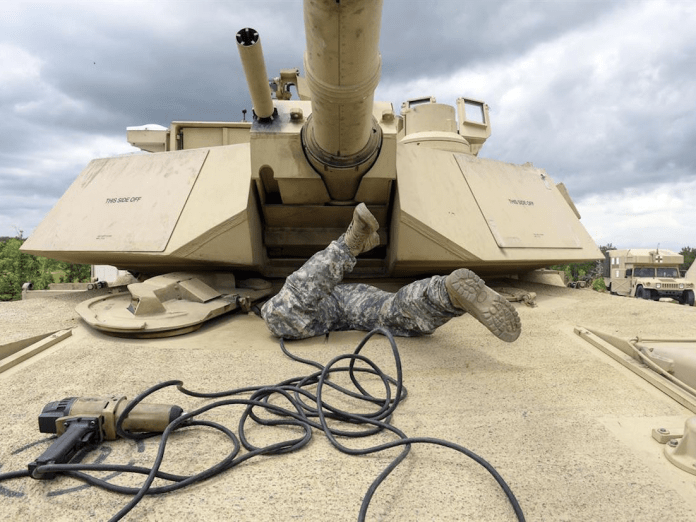 US military life Abrams tank US Army
