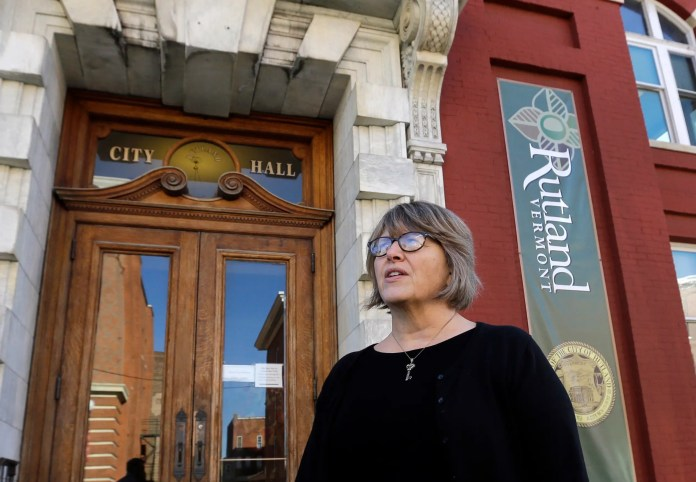 Wendy Wilton Rutland treasurer A plan to resettle 100 Syrian refugees ripped apart a Vermont town A plan to resettle 100 Syrian refugees ripped apart a Vermont town ap16328774190286