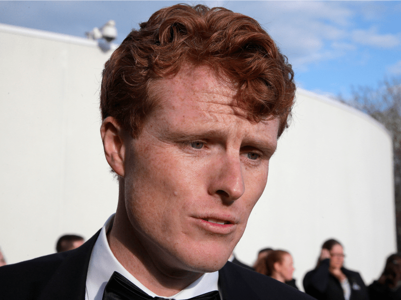"Rep. Joe Kennedy of Massachusetts: ""Nobody is above the law. Period."""