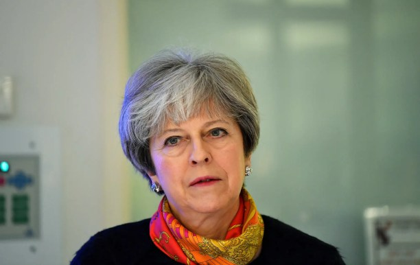 Theresa Would possibly possibly additionally just sad scientific institution