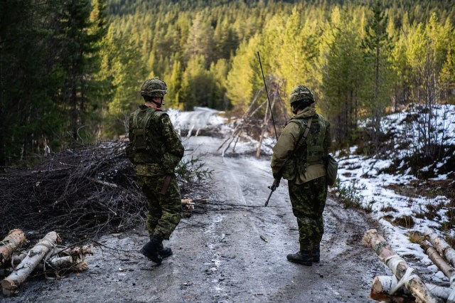 Canada army engineer Norway Trident Juncture