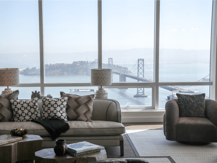 Take a look inside a glittering,  million penthouse in the hottest new San Francisco neighborhood that Facebook, Google, and Salesforce call home