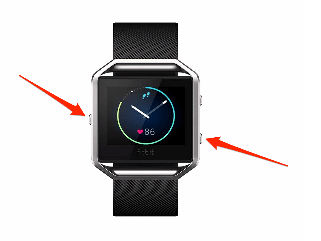 How to reset a Fitbit Blaze in less than 20 seconds to fix