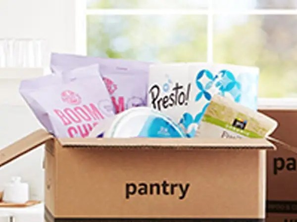 Prime Pantry showcase
