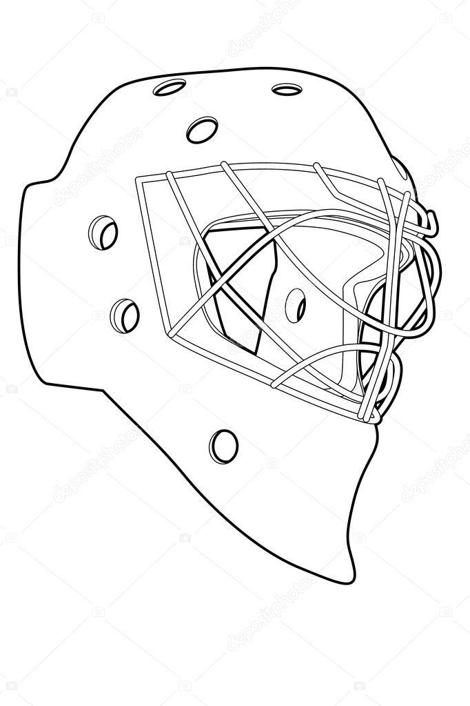 Blank Goalie Mask Template Pin Blank Goalie Mask Template On