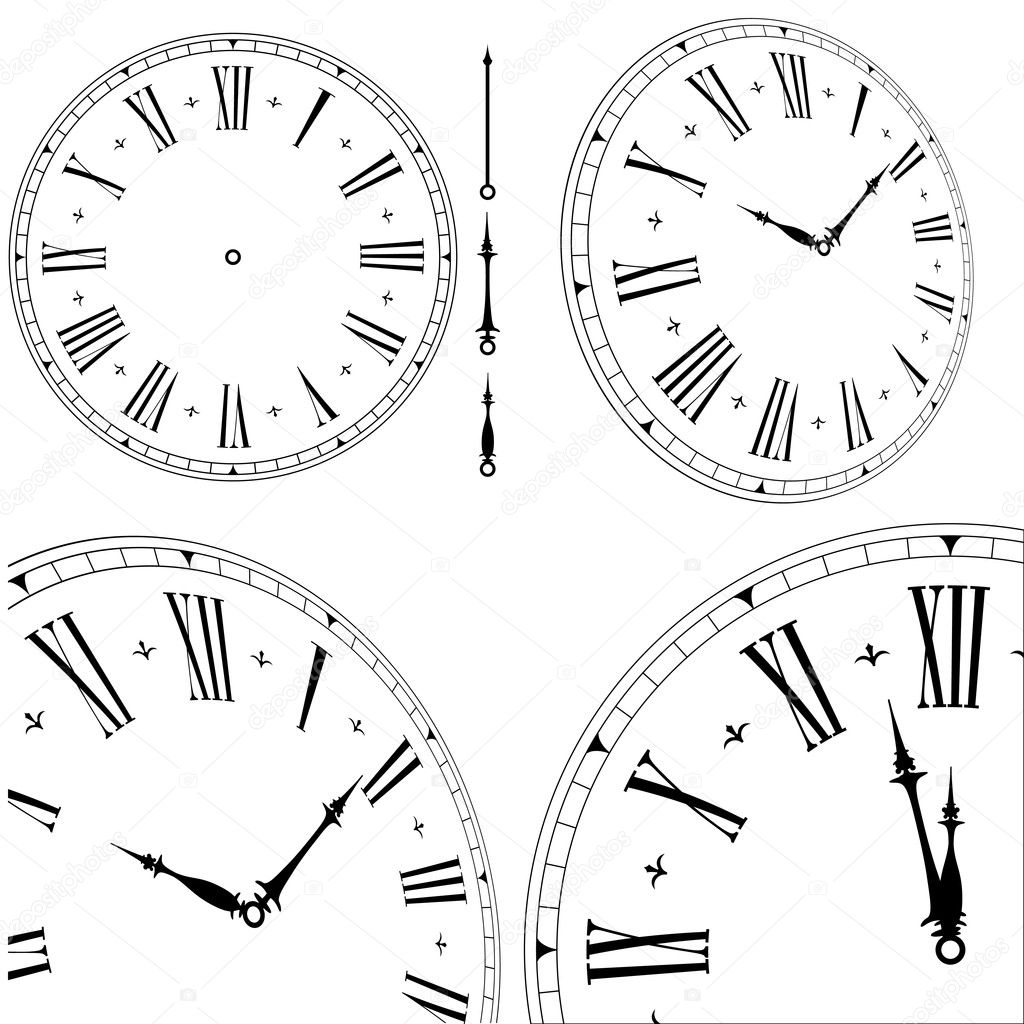 Images About Clock Faces