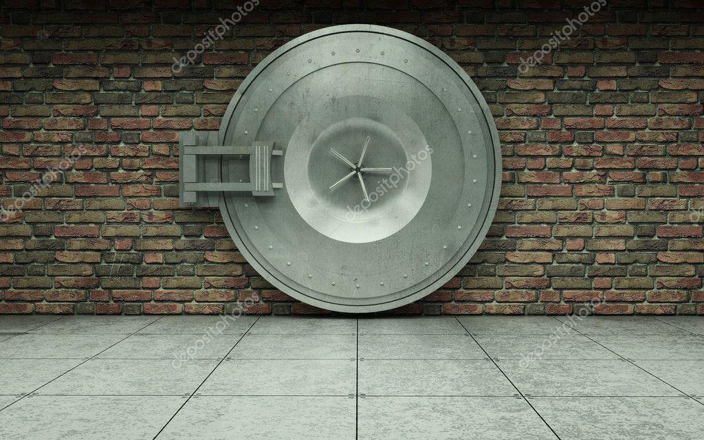 old bank vault