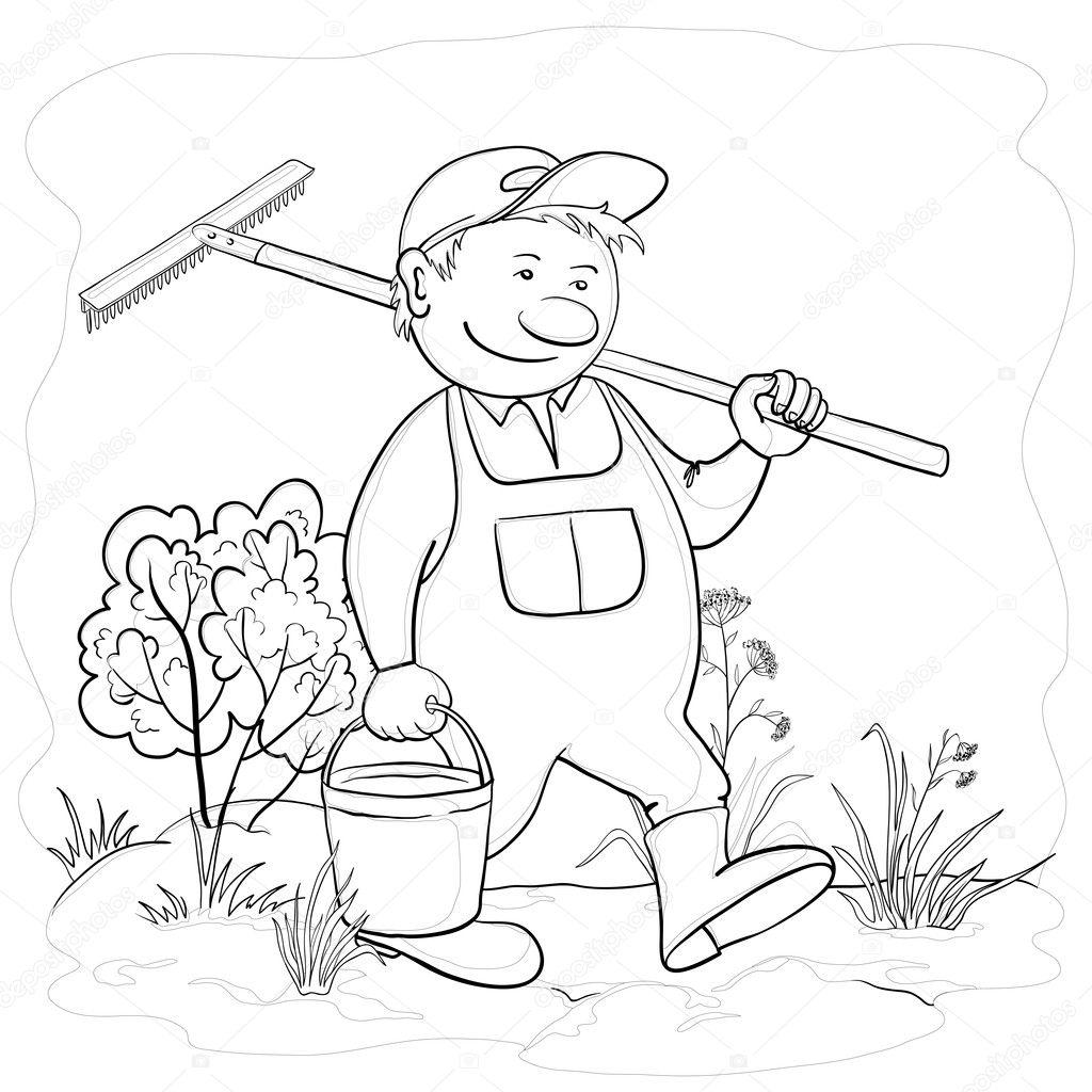 Man Gardener