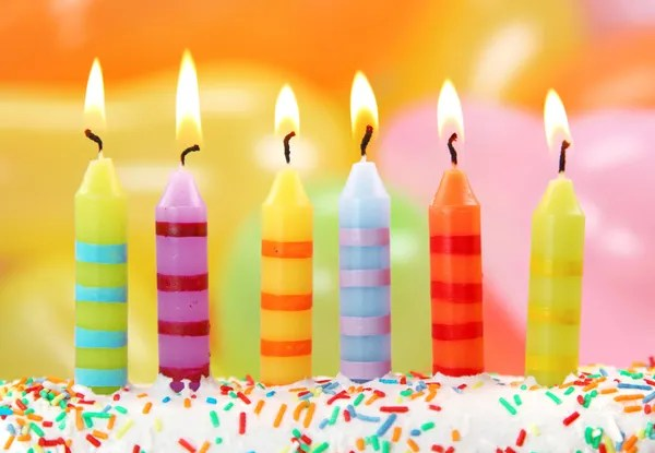 Birthday Candles Stock Photos Royalty Free Birthday