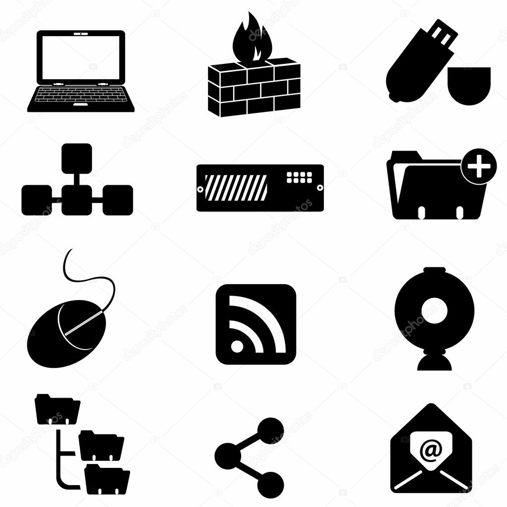 Computer And Technology Icons