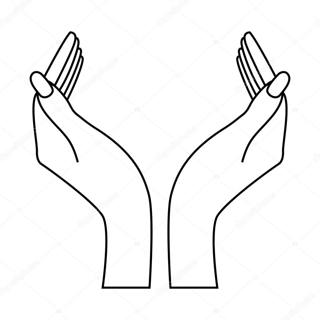 Two Hands Insert Your Logo