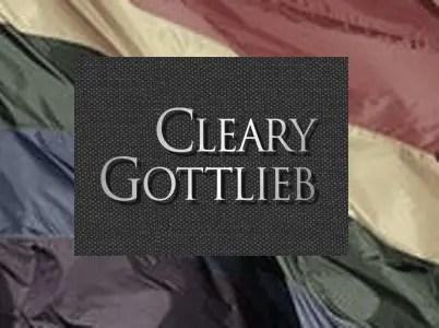 #1 Cleary Gottlieb (7.48%)