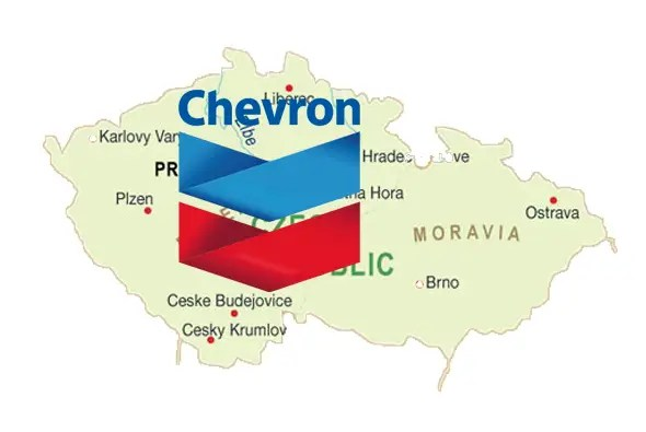 Chevron is bigger than the Czech Republic