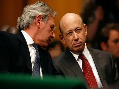 Lloyd Blankfein, chairman and CEO, Goldman Sachs