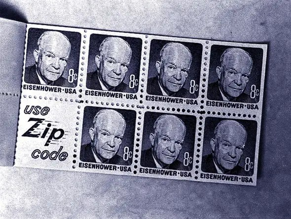 The price of one U.S. stamp in 1971 was 8 cents. Today it is 45 cents.
