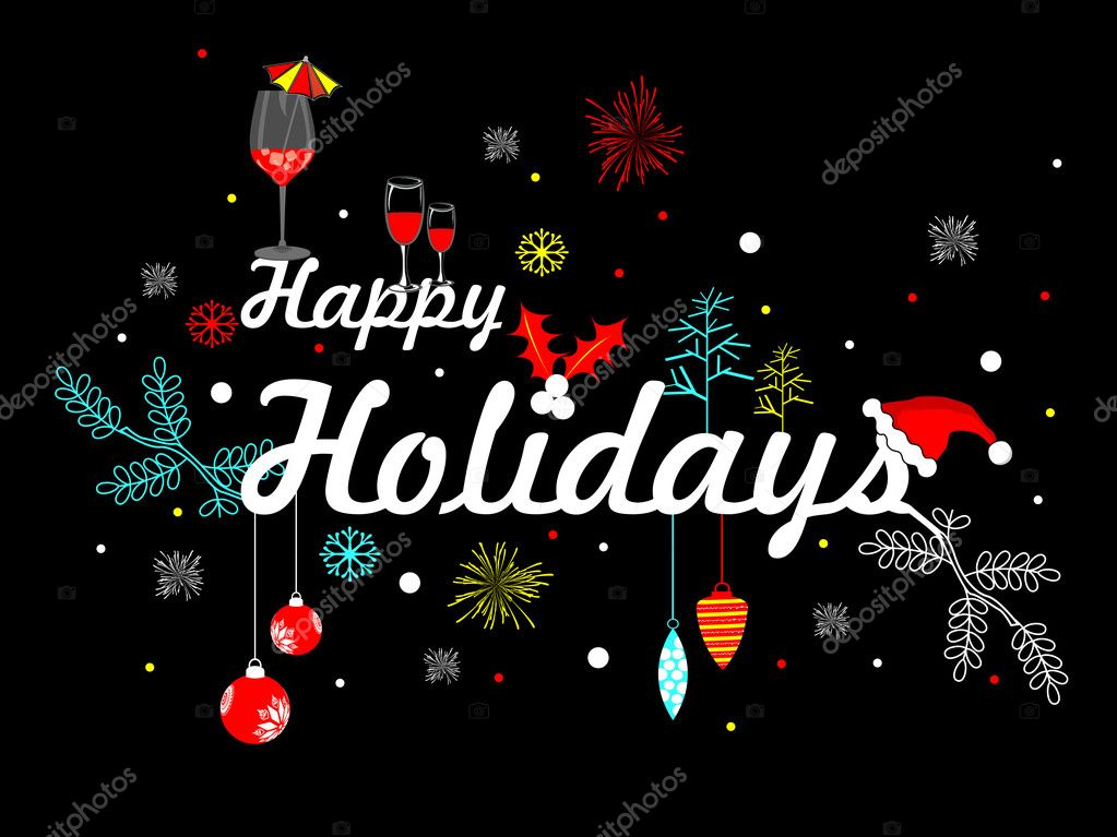 Áˆ Happy Holiday Graphics Stock Pictures Royalty Free Happy Holidays Vectors Download On Depositphotos