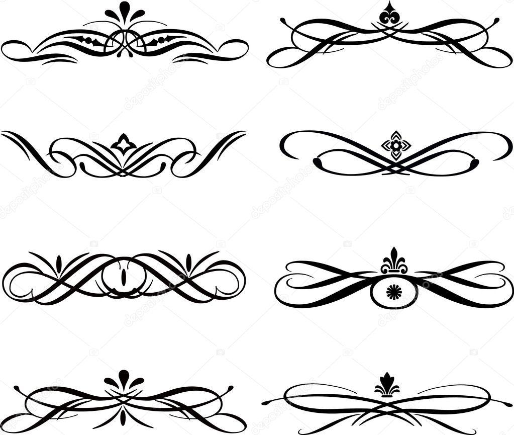 resume page border r sum des l ments graphiques vectoriels les bordures les resume cv cover leter ipnodns ru