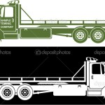 ᐈ Tow Truck Silhouette Stock Vectors Royalty Free Tow Illustrations Download On Depositphotos