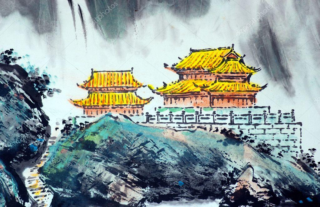 Hintergrundbilder Alt China Malerei Kunstwerk 1923x2202