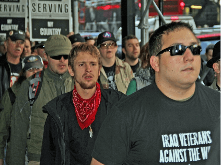 occupy wall street veterans Veterans Stand Up For Liberty: If You Continue To Assemble In Peace And Solidarity, Justice Will Come To Pass