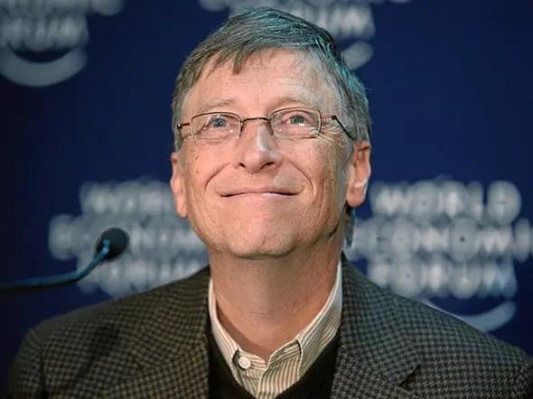 Bill Gates, chairman, Microsoft