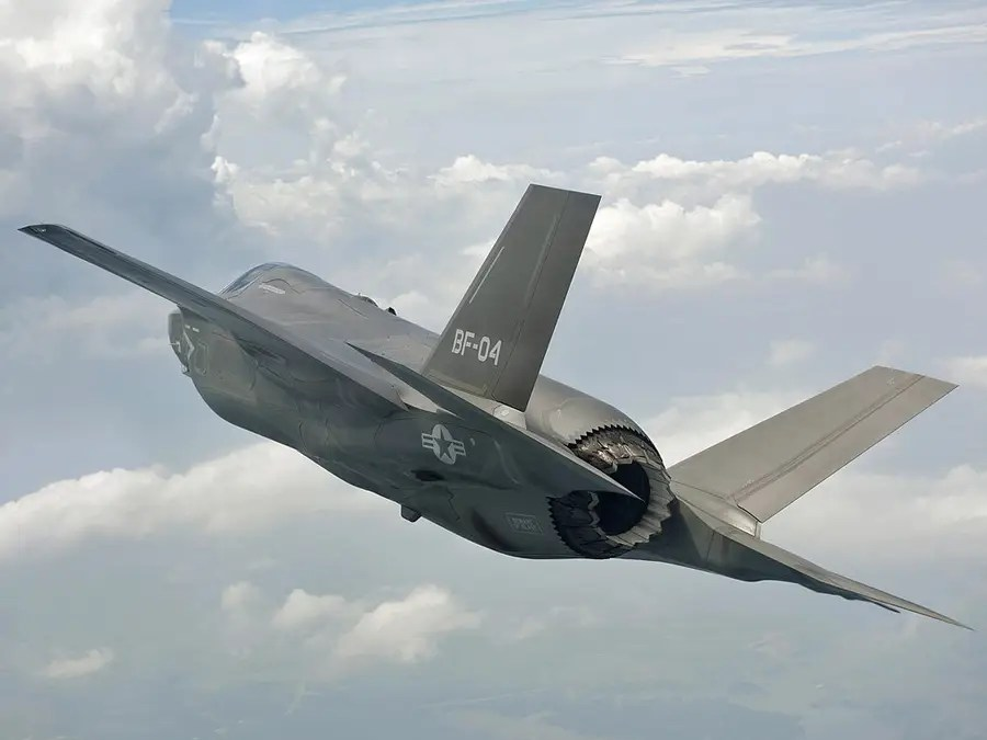 At just over 50-feet long, the F-35 hits Mach 1.6, has a range of up to 1,200 nautical miles, and can carry 18,000 pounds of weapons
