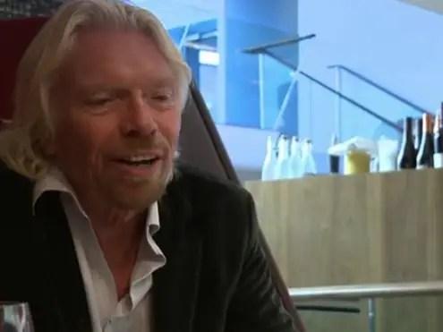 Richard Branson, founder and chairman, Virgin Group