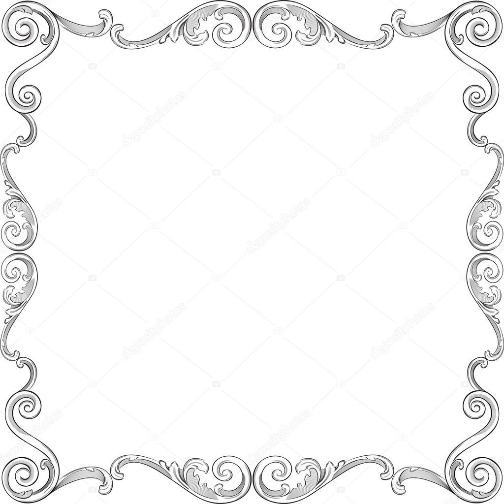 Beautiful Ornate Frame