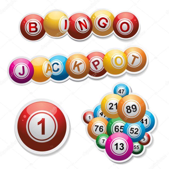 Bingo Stickers Set Stock Vector Image By C Elaineitalia 9216026