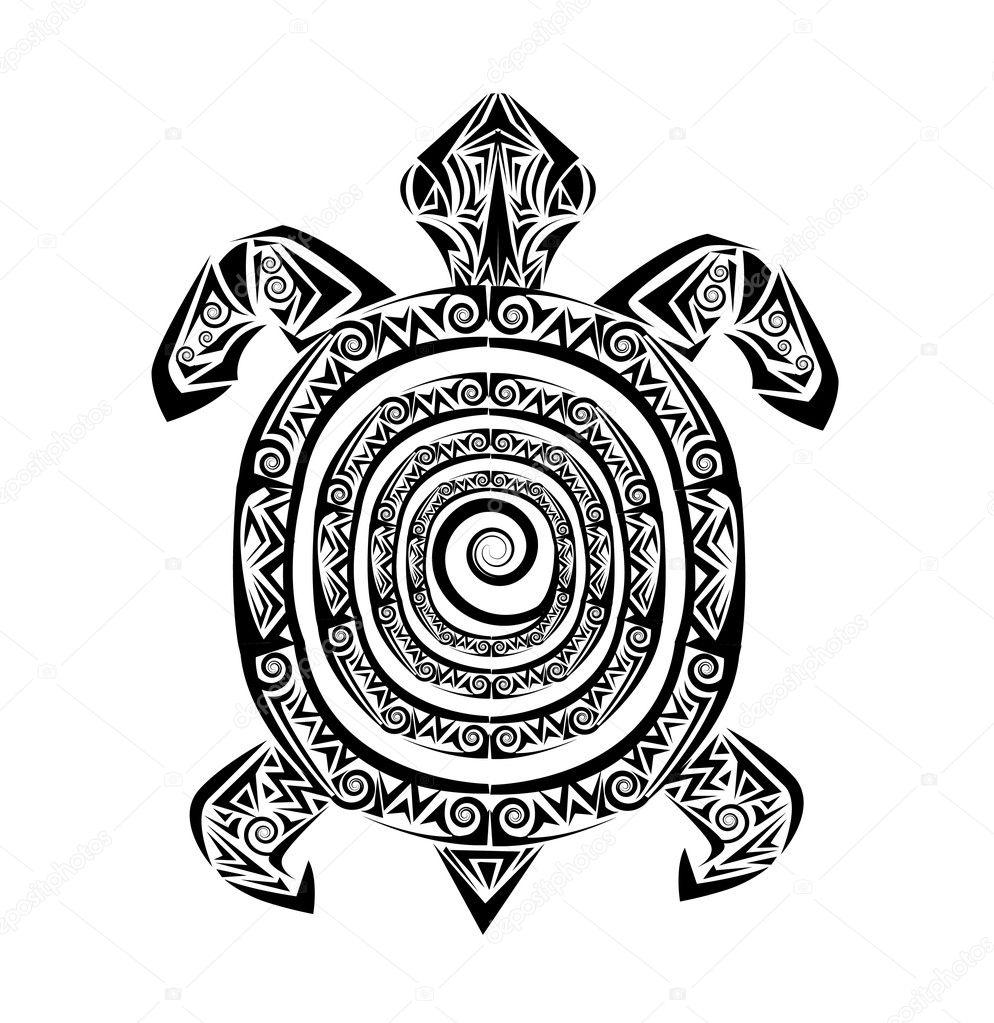 Black And White Tribal Sun Tattoos