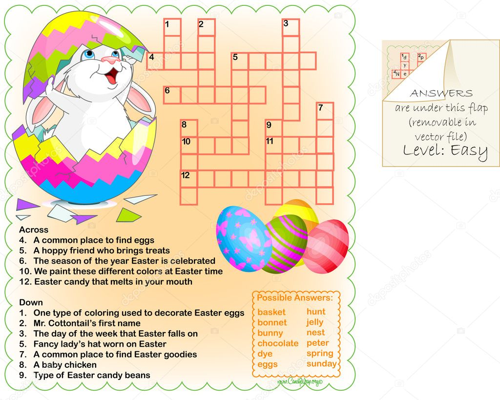 Easter Crossword Puzzle 1