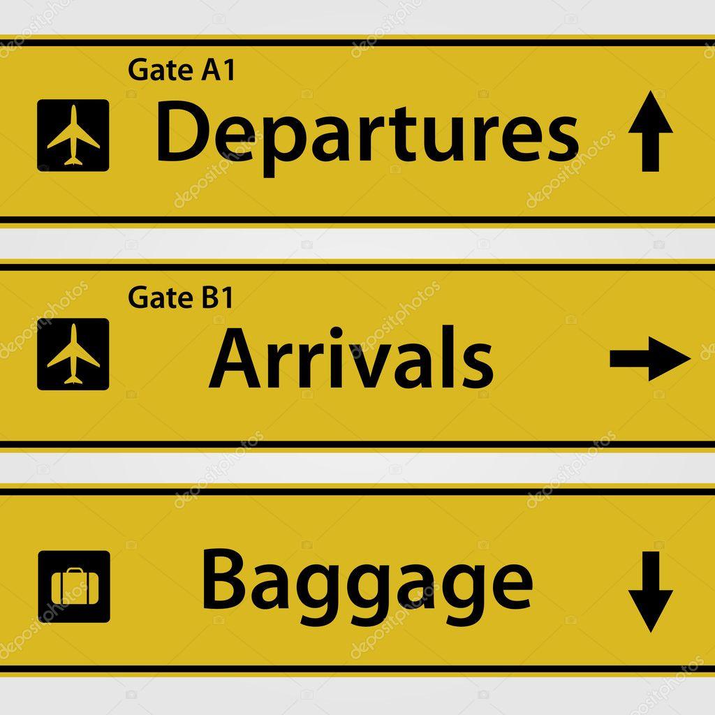 Signos De Aeropuerto