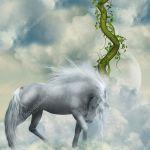 Fantasy White Horse Stock Photo C Justdd 11773198