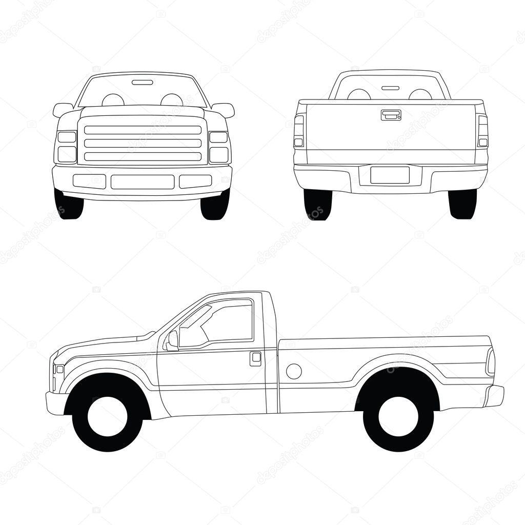 Modelo De Camioneta Pick Up