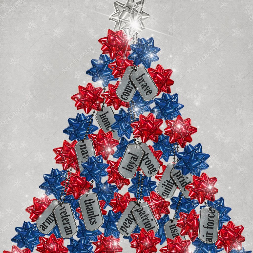 Military Christmas Tree Stock Photo Jentara 11345522