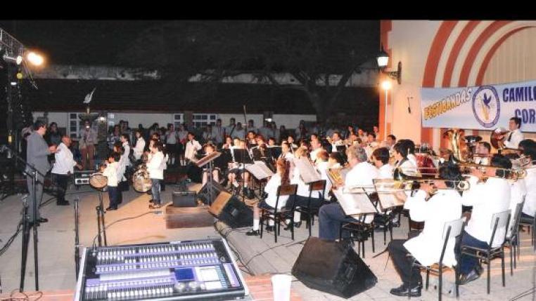 Banda Infanto Juvenil de Camilo Aldao / Foto de Agencia Córdoba Cultura