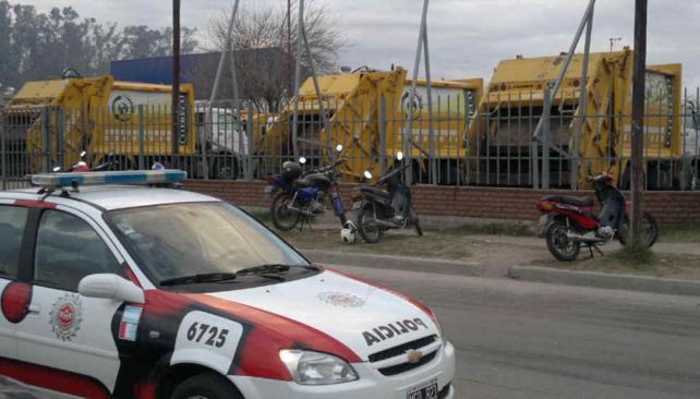 CRESE. El predio recuperó la calma tras los incidentes (La Voz/Facundo Luque).