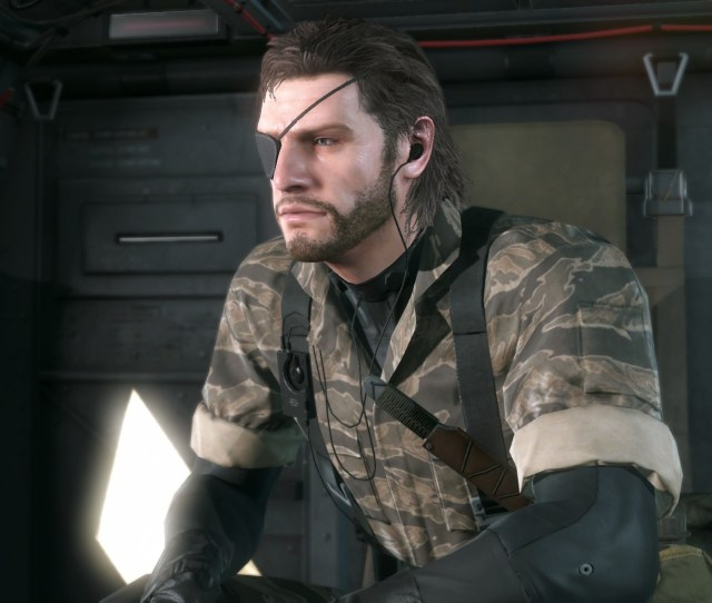 Wip Younger Naked Snake At Metal Gear Solid V The Phantom Pain