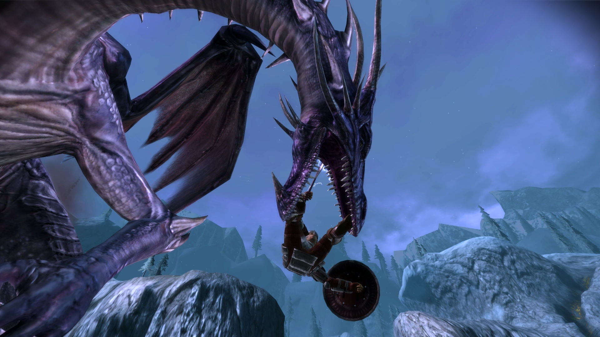 High Dragon Fight At Dragon Age Mods And Community