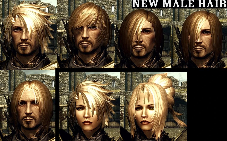 Skyrim Nexus Apachii Hair