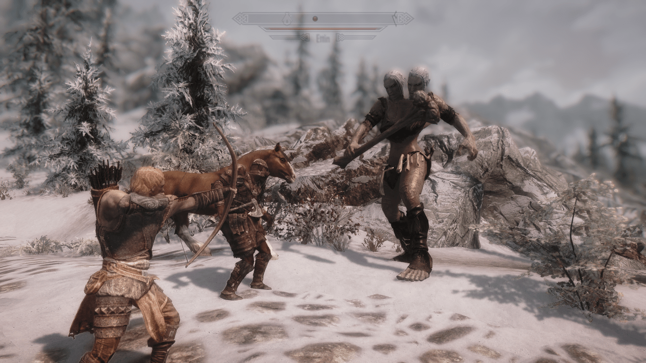 Playable Giant Race And Giant Expansion At Skyrim Nexus